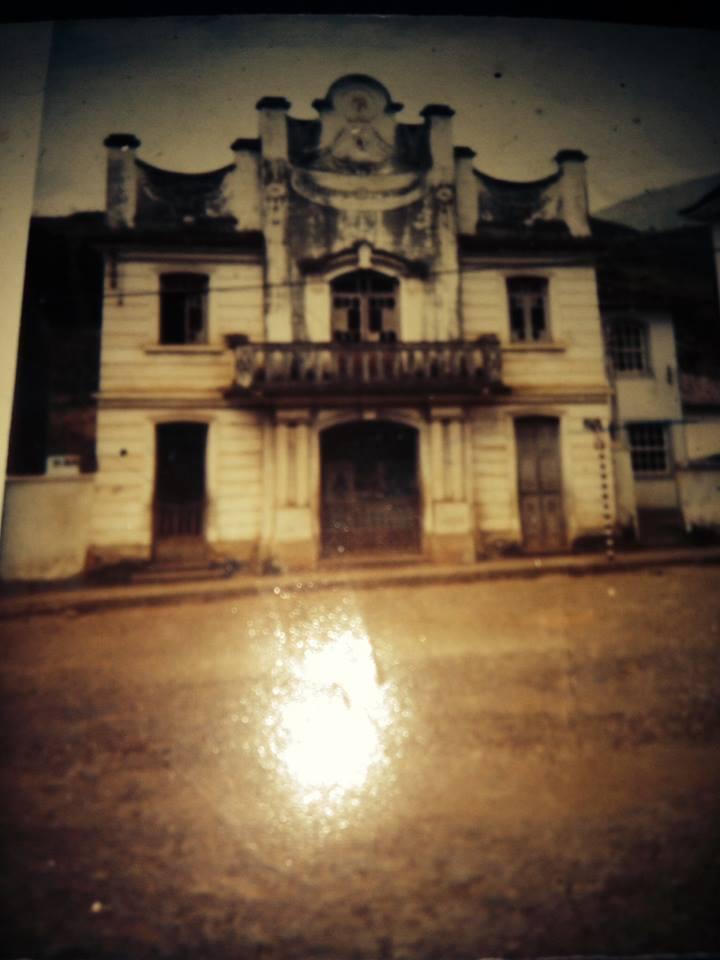 Antigo Cine Central – Fotografia sem data cedida por Margareth Veisac Marton